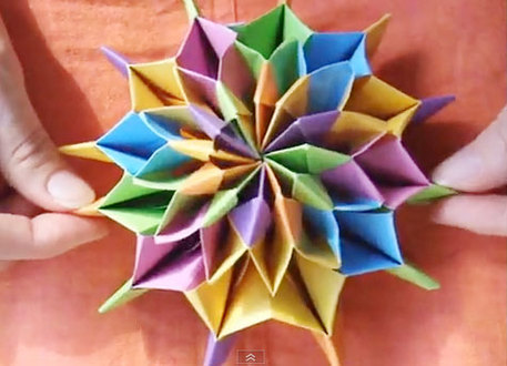 Celebrate New Years With Origami Fireworks Craftfoxes