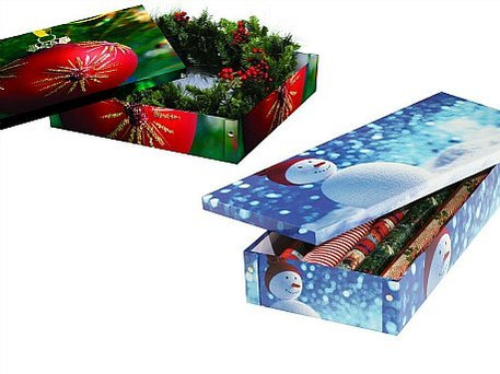 holiday storage boxes from Snap-N-Store