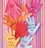 Valentine's Day Cards, Stamps, Rings for Kids and Teenagers