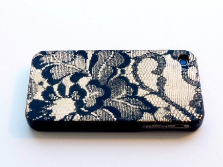 DIY lace iphone cover