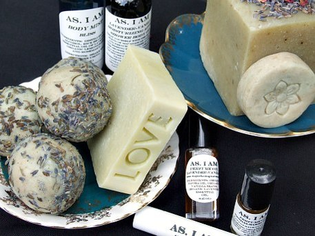 soap from a craft fair