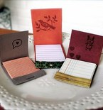 Leftover Paper Becomes a Matchbook Notebook
