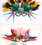 Last-Minute Mardi Gras Masks for Kids and Adults