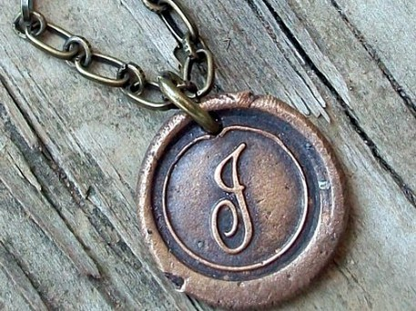 jewelry made from vintage typewriter keys