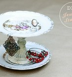 Vintage Dinnerware to Delicate Jewelry Display