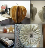 Get Started Upcycling Old Books