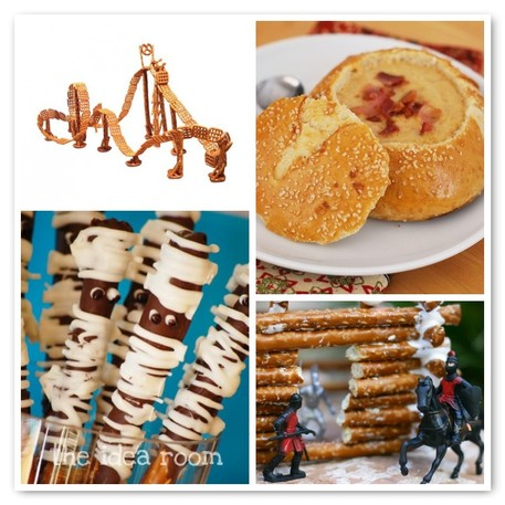 Pretzel Crafts and Recipes