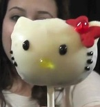 Hello Kitty Cake Pops (Video Tutorial)