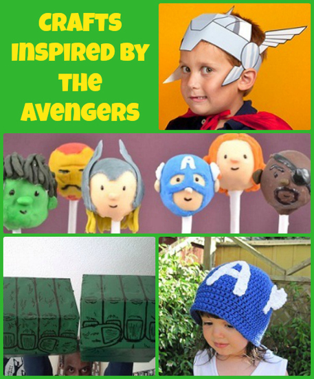 Avengers Crafts