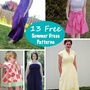 13 Free Sundress Patterns for Summer