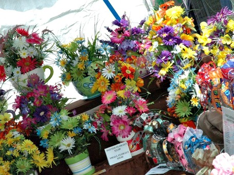 A collection of flower arangements from Old Canal Days