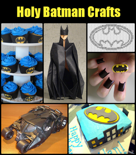 Holy Batman Crafts!