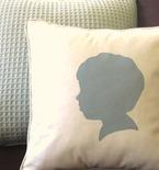 DIY Home Decor Idea - Easy Silhouette PIllow