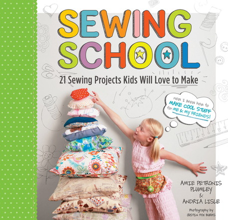 sewing school book cover
