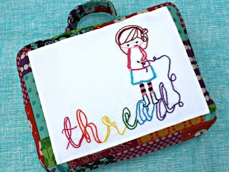 Kids Sewing Kit embroidery thread