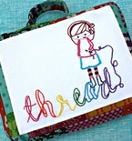 Sewing Kits for Kids — Travel Embroidery Bag