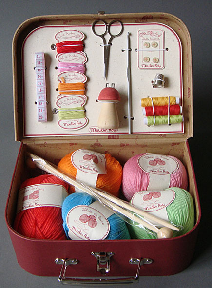 knitting with kids kit