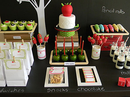 back to school craft party