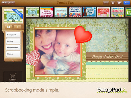 scrap pad craft app