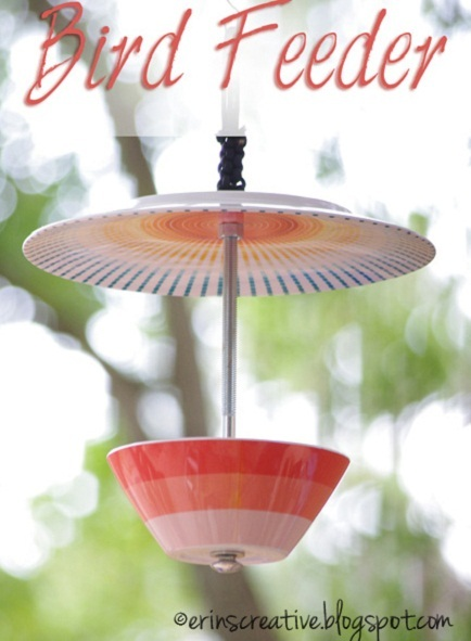 teacup bird feeder craft