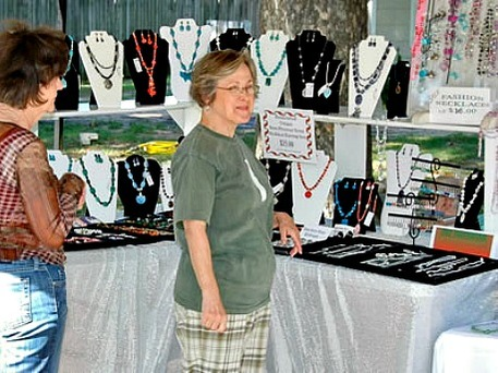 Ding Dong Days Jewelry Vendor and Customer