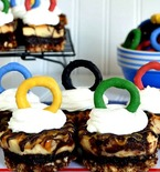 Olympic Rings Brownie Recipe