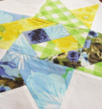 Scraptastic Triangle Quilt Blocks