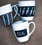 Weekend Project: Chalkboard Cups