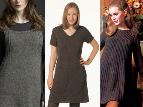 Knit A Shift Dress Pattern 3 Ways Craftfoxes