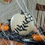 no carve pumpkin halloween decoration