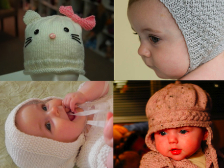 baby bonnet knit pattern and how-to