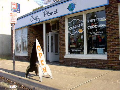 Storefront of Crafty Planet