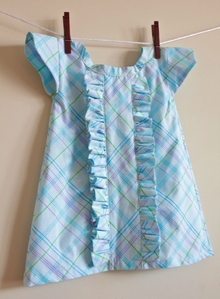 Retro Ruffle Pillowcase Dress from Simply Modern Mom