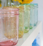 Weekend Project: Tinted Mason Jars