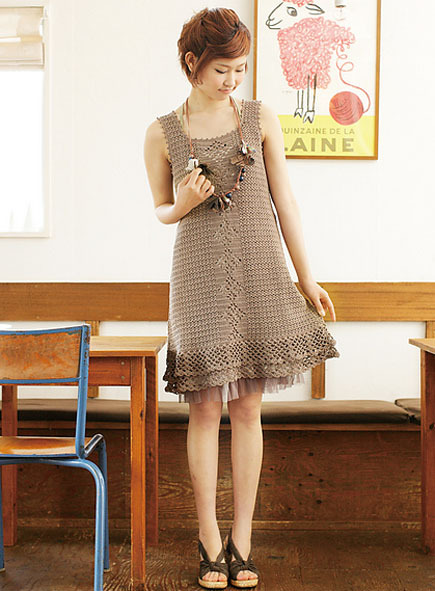 crochet dress patterns (free)
