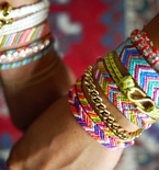 Crafts for Teenagers — Chevron Friendship Bracelets