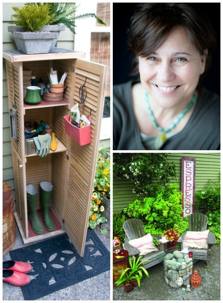 garden projects and their creator, Lorene Edwards Forkner