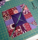 The Boardwalk Block (Free Quilt Block Pattern)