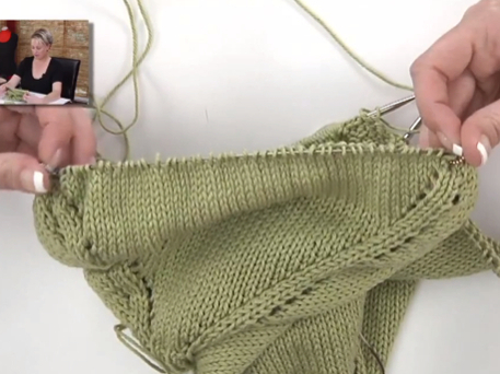 free sweater knitting pattern video for women's sweater