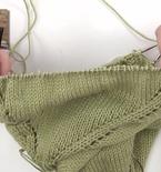 Top-Down Sweater Knitting Pattern for Women