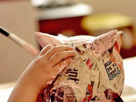kids papier mache