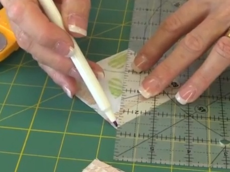 quilting with half-square triangles