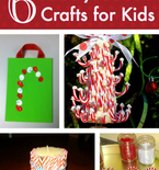 6 Candy Cane Crafts for Kids