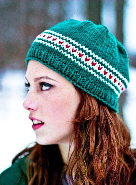 Free Fox Beanie Hat Knitting Pattern