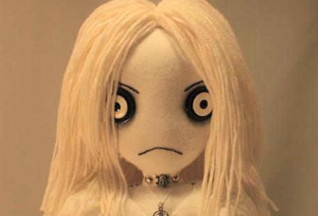 Horror craft, creepy rag doll, Halloween, Etsy