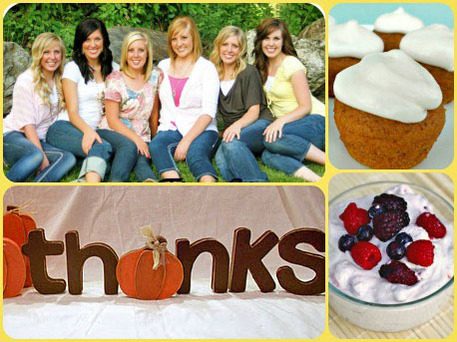 easy thanksgiving meals and crafts from Six Sisters' Stuff