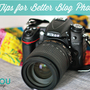 craft photography tips for bloggers