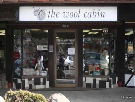 Storefront of The Wool Cabin