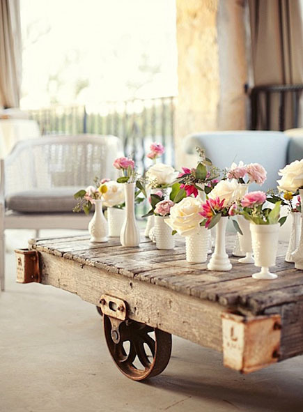 Vintage wedding centerpieces craftfoxes