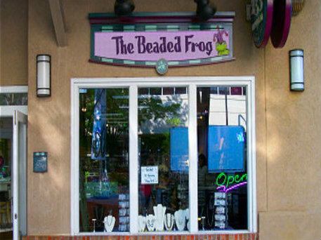 Storefront of The Beaded Frog